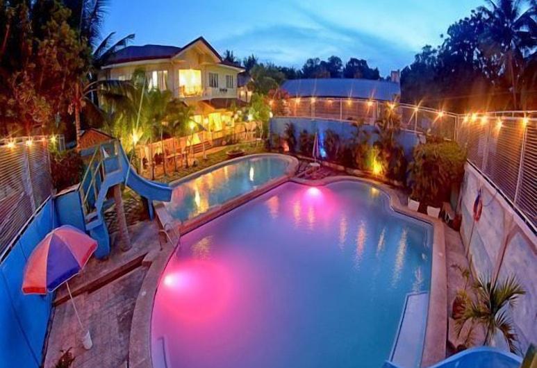 Blue Pot Family Resort, Dalaguete, Vonkajší bazén