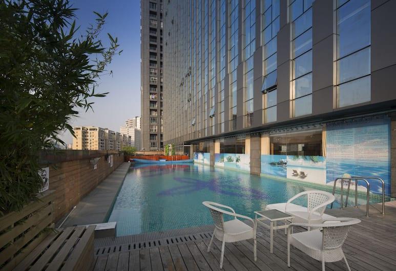 鴻德國際酒店, 廣州市, 室外泳池
