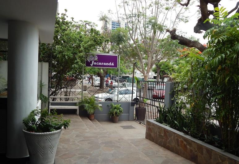 蘭花楹旅館, 馬布多, 飯店正面