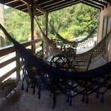 Doppia Luxury, 1 letto king, vista fiume - Balcone