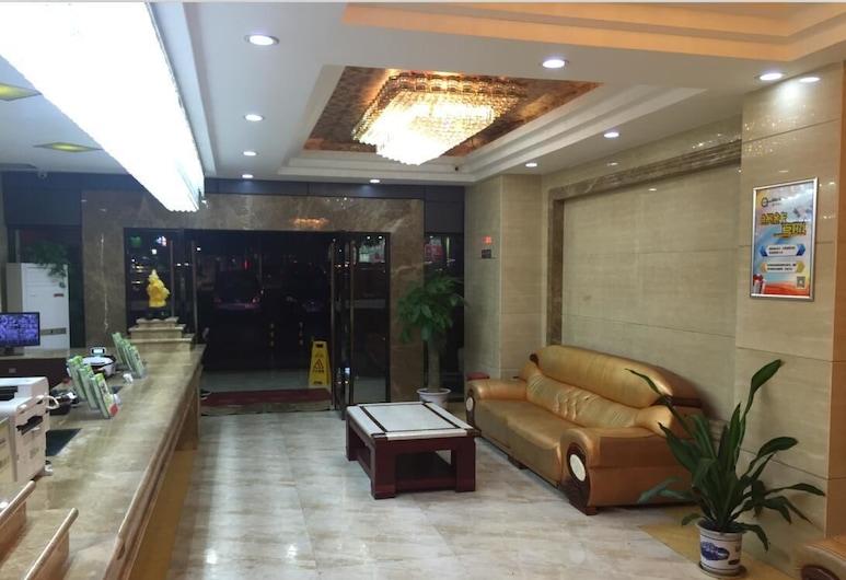 Yimi Hotel Chi Gang Station Branch, Guangzhou, Sala de Estar do Lobby
