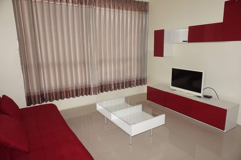 Studio One Bedroom with Kitchenette - Living Area