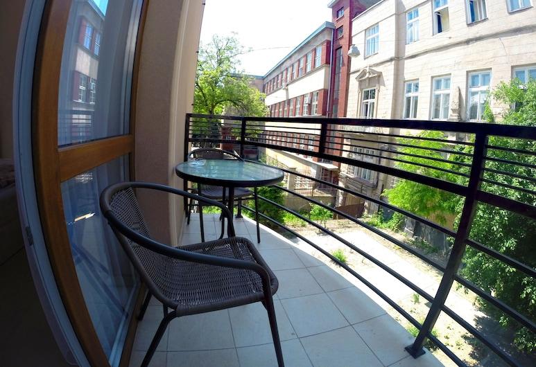 A&A Apartments, Lavov, Dvokrevetna soba (with Balcony), Balkon