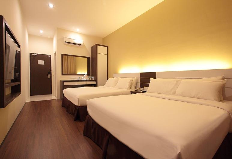 Skytree Hotel, קוואנטן, חדר משפחתי (Deluxe), חדר אורחים