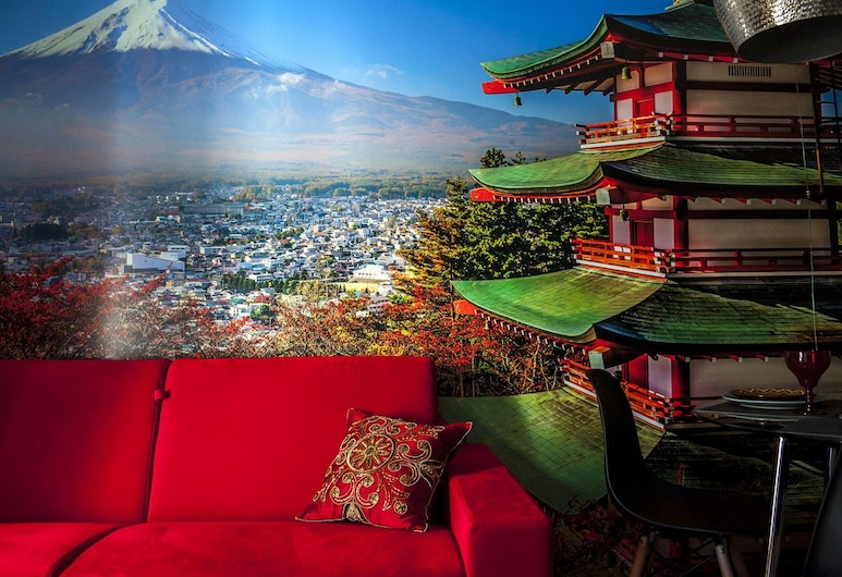 Art Suites Santander, Santander, Apartment, mit Bad (Asia), Wohnzimmer