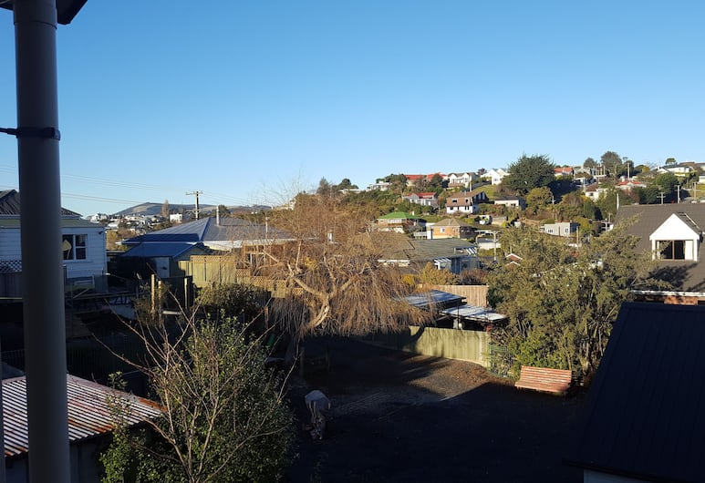 March Apartments, Dunedin, Studio Apartment - Balcony, View from room