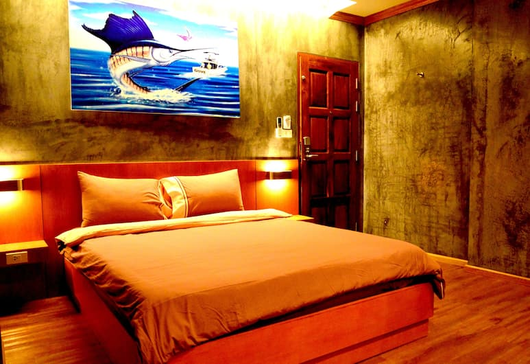 Chaphone Guesthouse, Phuket, Deluxe-Doppelzimmer, Zimmer