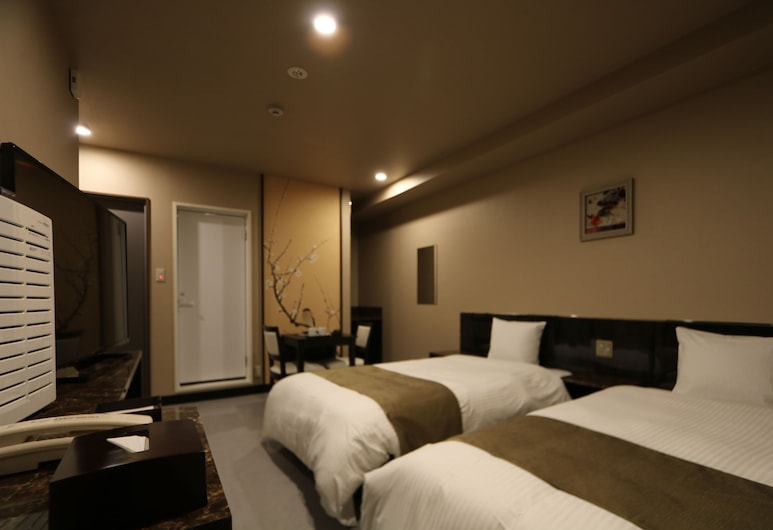 HOTEL KANADE 大阪難波駅すぐ , 大阪市, ツインルーム 喫煙可, 部屋