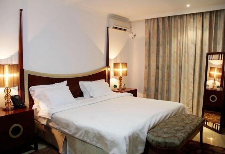 Hotel Ritz Aanisa, Calulo, Double Room, Bilik Tamu