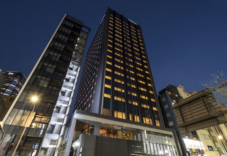 렘 롯폰기, 도쿄, 호텔 정면 - 저녁/밤