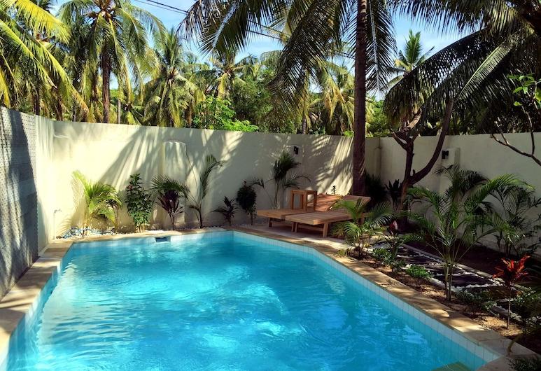 Gili Luxury Villa, Gili Trawangan, Vonkajší bazén
