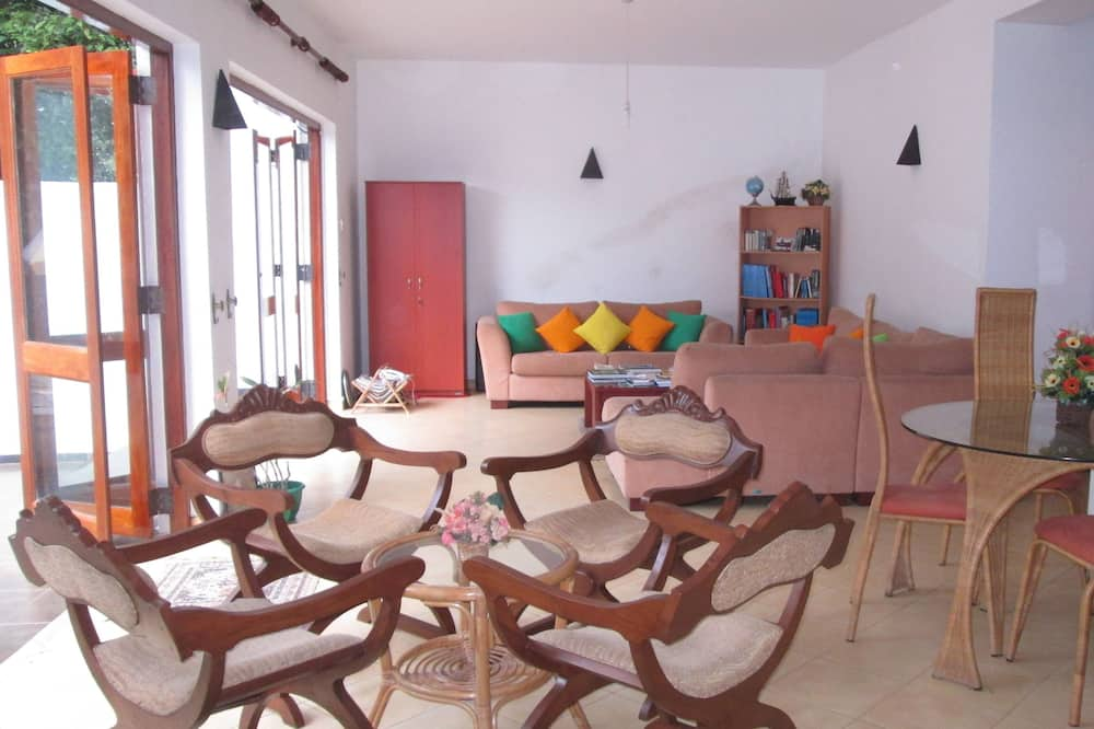 Forest Side Room with attached Bathroom and AC  - Living Area