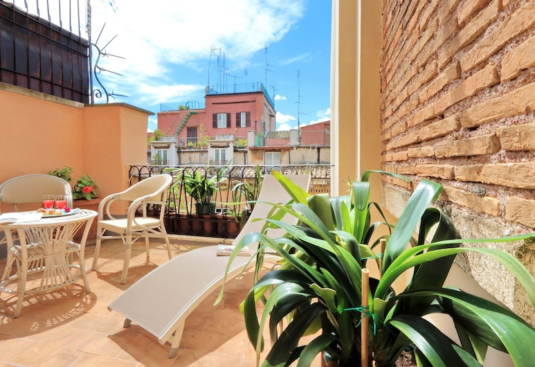 Al Corso 4, Rome, Junior Suite, Balcony