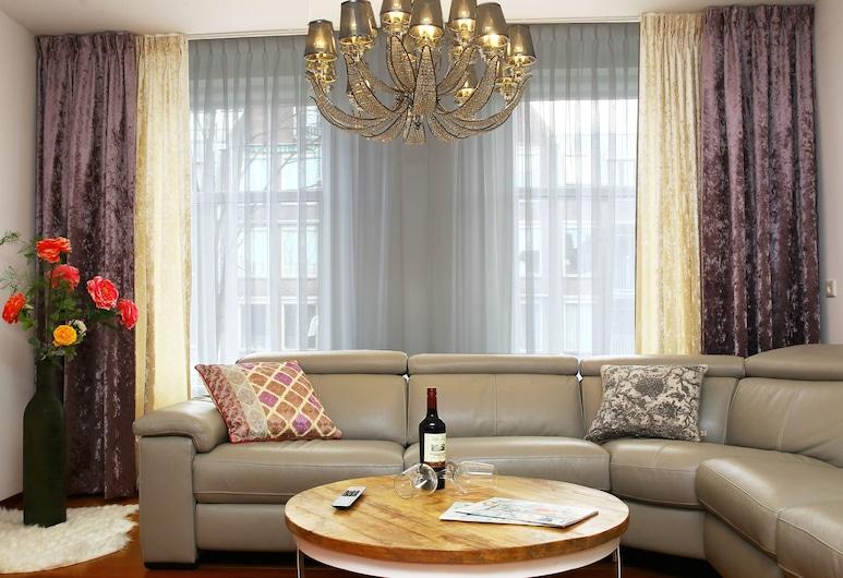 代爾夫特奢華公寓酒店 - 皇家蔚藍代爾夫特, 戴夫特, 高級公寓, 客廳