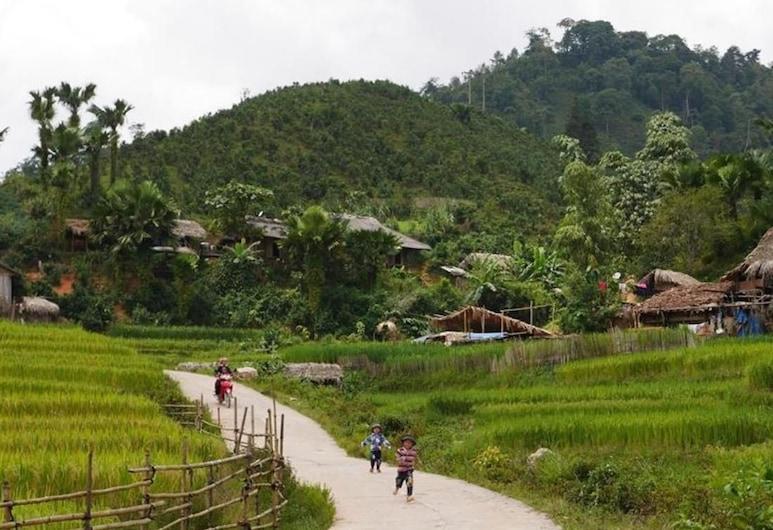 Ngan Nga Bac Ha Hotel, Bắc Hà, Vista a la montaña