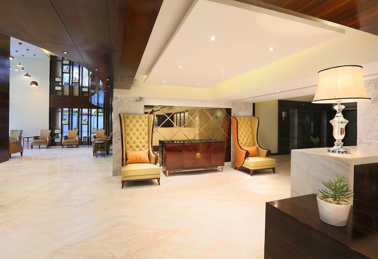 Samanvay Boutique Hotel Udupi, Udupi, Priestory na sedenie v hale
