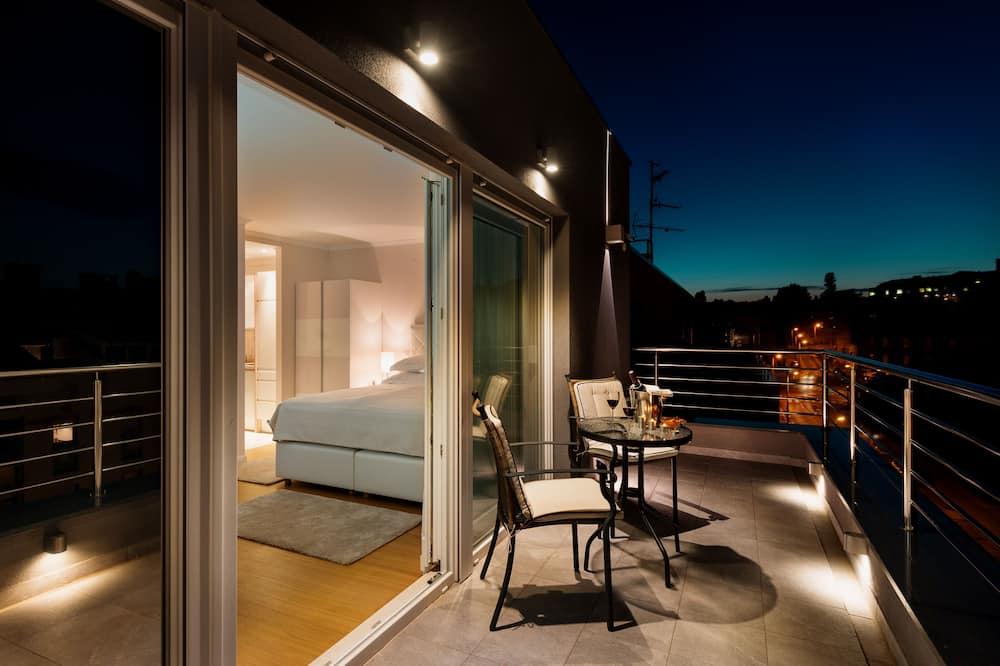 Studio Supérieur, salle de bains attenante (Superior Studio Suite) - Terrasse/Patio