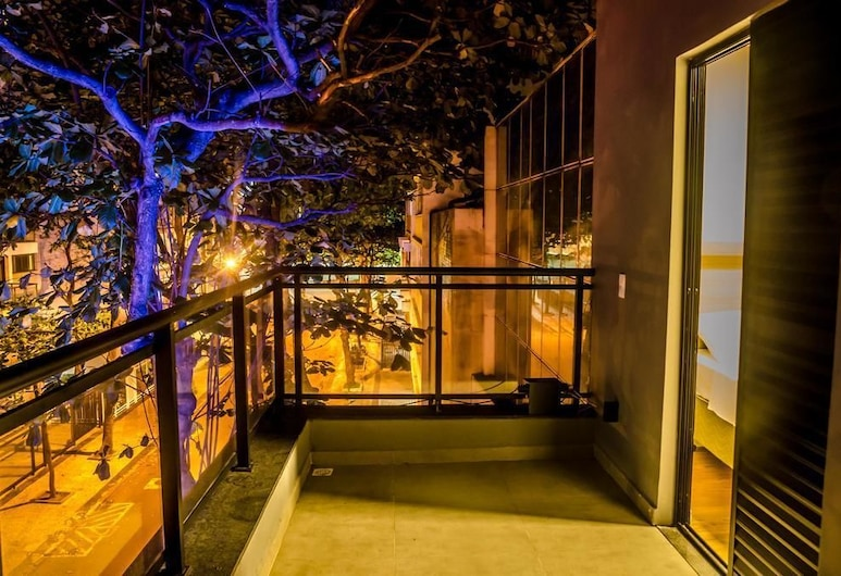 Ipanema Beach Hostel, Rio de Janeiro, Apartmán typu Superior, 1 veľké dvojlôžko, Terasa