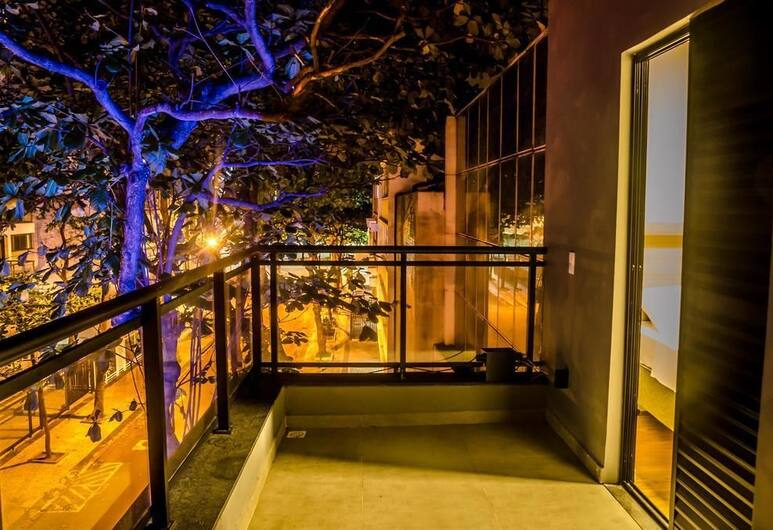 Ipanema Beach Hostel, Rio de Janeiro, Suite – superior, 1 queensize-seng, Terrasse/veranda