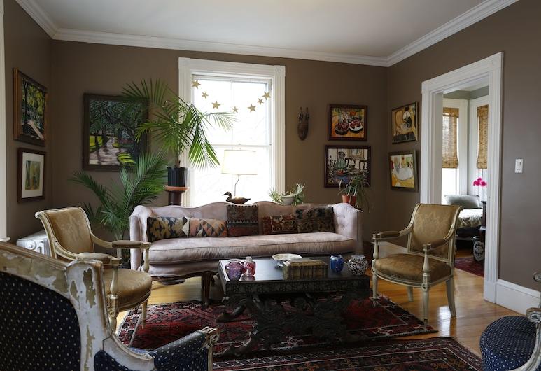Chez Pat in Cambridge, Cambridge, Classic-Doppelzimmer zur Einzelnutzung, Wohnbereich