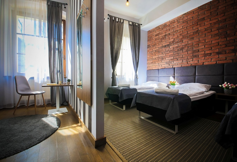 Boogie Aparthouse Old Town, Vroclav, Apartmán typu Deluxe, Obývacie priestory