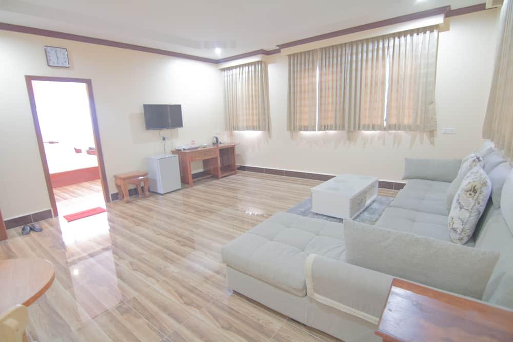 Familieværelse - 1 soveværelse - byudsigt - Opholdsområde