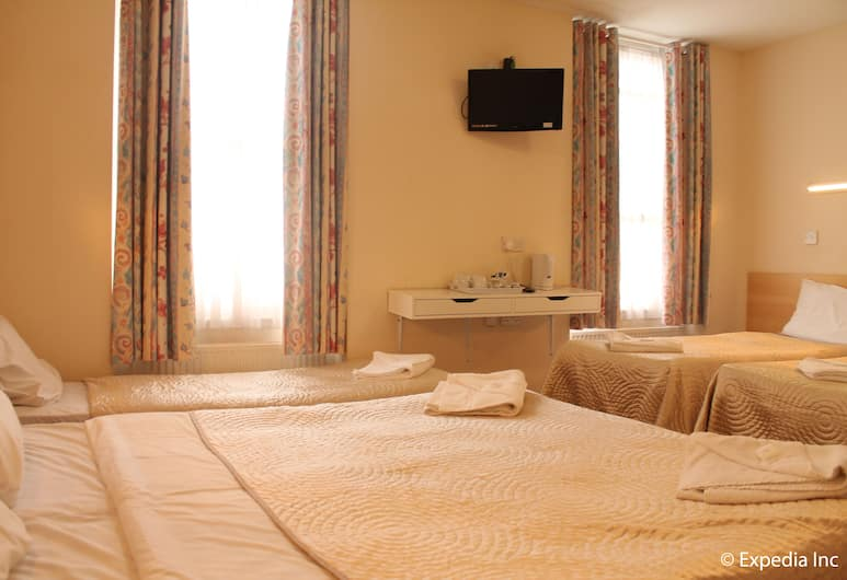 Romanos Hotel, London, Family Room, Ensuite, Guest Room