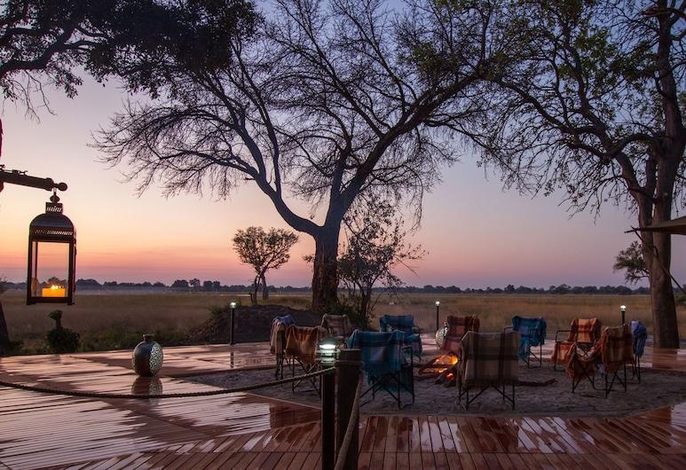 Kadizora Camp, Okavango Delta, Terrace/Patio