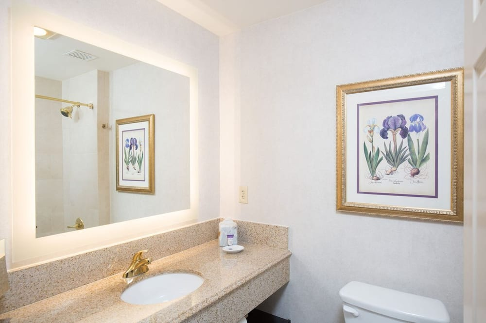 Deluxe Room, 2 Double Beds - Bathroom