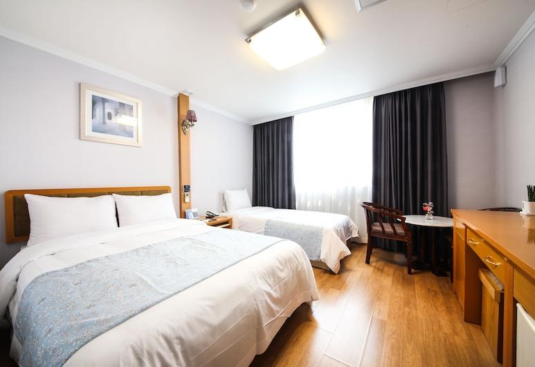 유토피아 호텔, 부산광역시, 디럭스 트윈룸, 객실