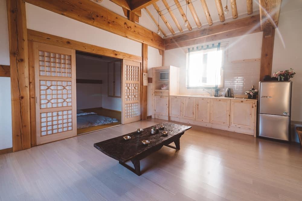 트래디셔널 하우스 (Big) - 거실 공간