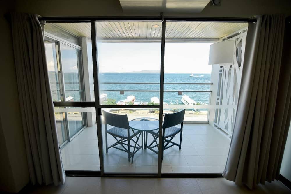 Deluxe kamer, Balkon, Uitzicht op zee - Balkon