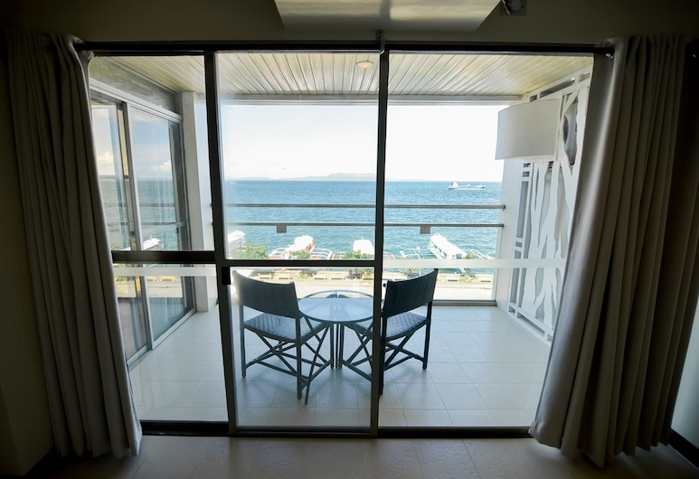 Hotel Tavern Surigao, Surigao, Rom – deluxe, balkong, utsikt mot sjø, Balkong
