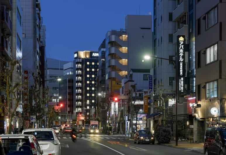 APA Hotel Shintomicho-Ekikita, Tokyo, View from Hotel