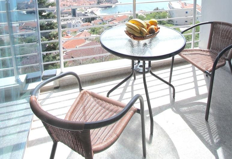 Apartments Aqua, Budva, Classic Apartment, 1 Bedroom, Balcony, Sea View, Balcony