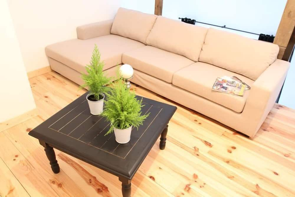 Apartemen, 1 kamar tidur, area taman - Ruang Keluarga