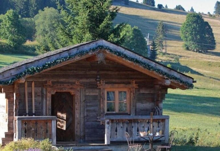 Chalet-Hôtel Le Manoir des Montagnes (Relais du Silence), Les Rousses, Chalet, 1 Queen-Bett, Terrasse, Zimmer