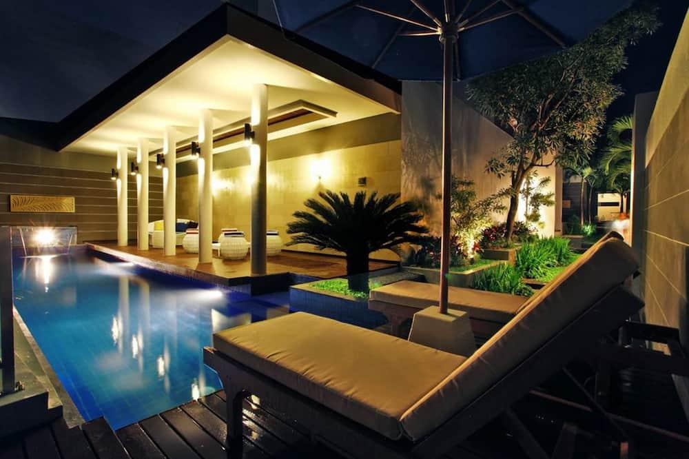 Villa, 1 magamistoaga, privaatbasseiniga, asub esimesel korrusel - Tuba