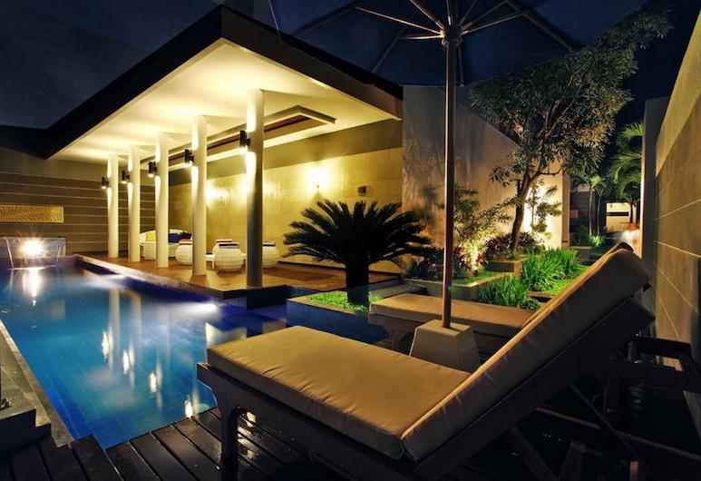Astamana Villa Canggu, Canggu, Vila, 1 spálňa, súkromný bazén, na prízemí, Izba