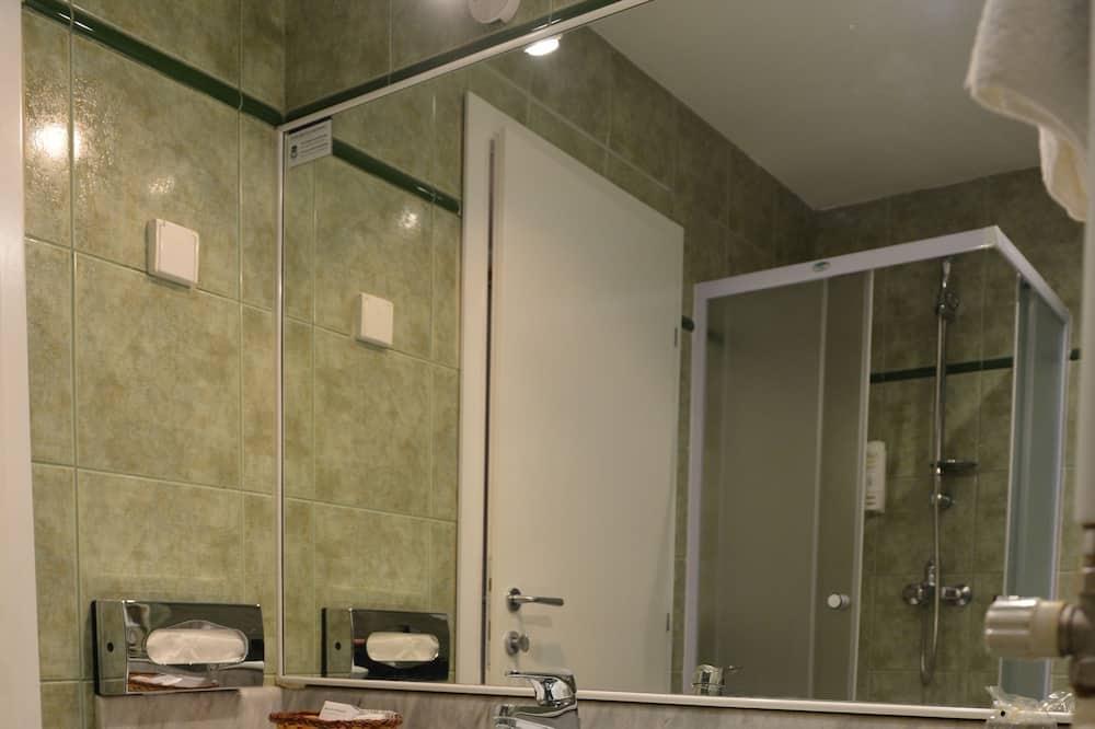 Business-dobbeltværelse - balkon - Badeværelse