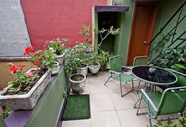 Condechi Bed and Breakfast, Mexico, Terrasse/Patio