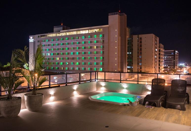 Amenit Hotel, Maceio, Terasz/udvar