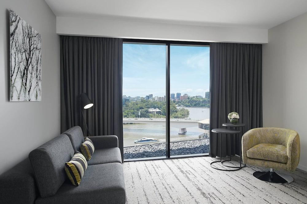 Camera Premium, 1 letto king, non fumatori, vista fiume - Camera