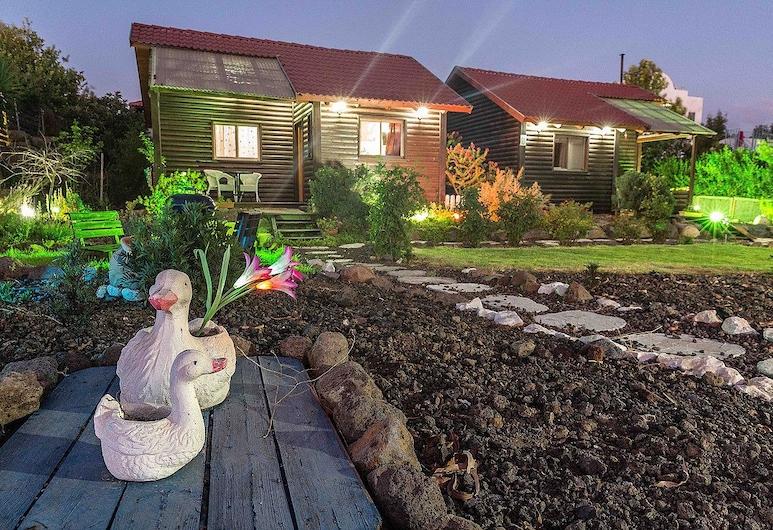 biktotliat Cabins, Ani'am, Romantická chatka, 2 spálne, výhľad na záhradu, Terasa