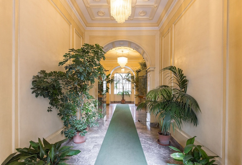 A Casa di Giorgia, Rom, Hotellets indgang