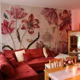 Розкішні апартаменти, 3 спальні, для некурців, патіо - Обіди в номері