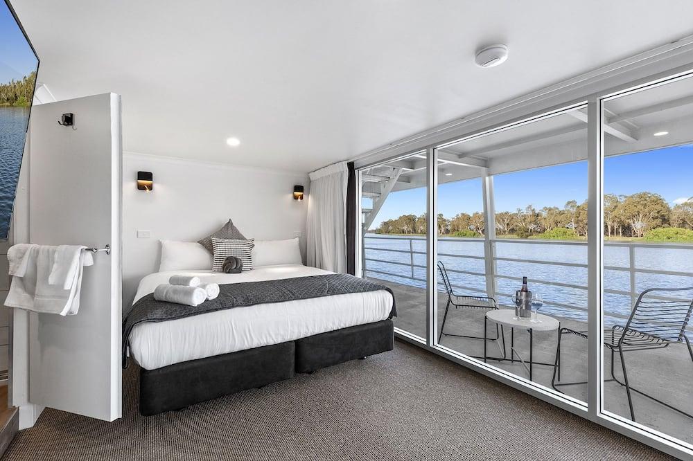 Deluxe studio, 1 slaapkamer, Uitzicht op rivier - Uitzicht op het water