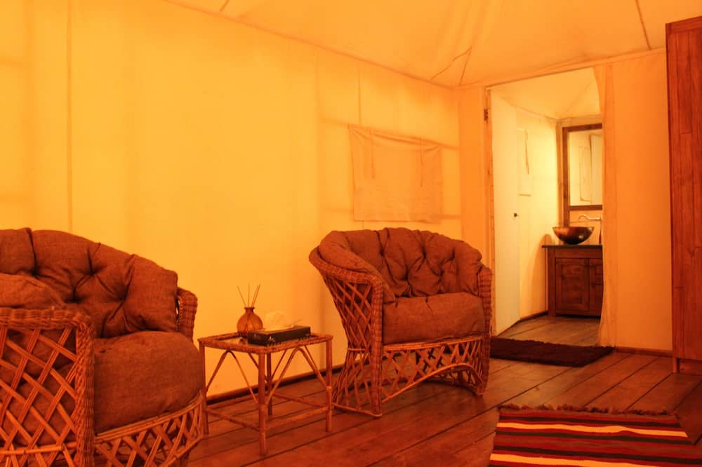 Tent, Shared Bathroom (Double) - Living Area