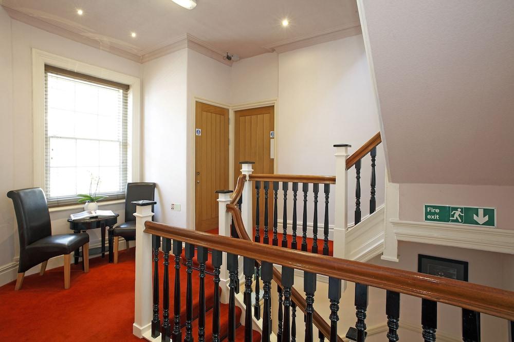 Castle Hotel Aberystwyth Interior Entrance