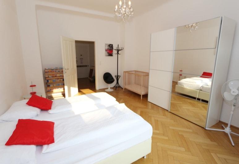 Vienna Apartment Center - Zentrum I, Viena, Apartamento família, 2 quartos, Cozinha, Quarto